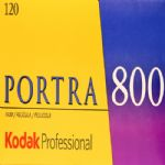Kodak Portra 800 iso 120 roll Colour Print Camera Film